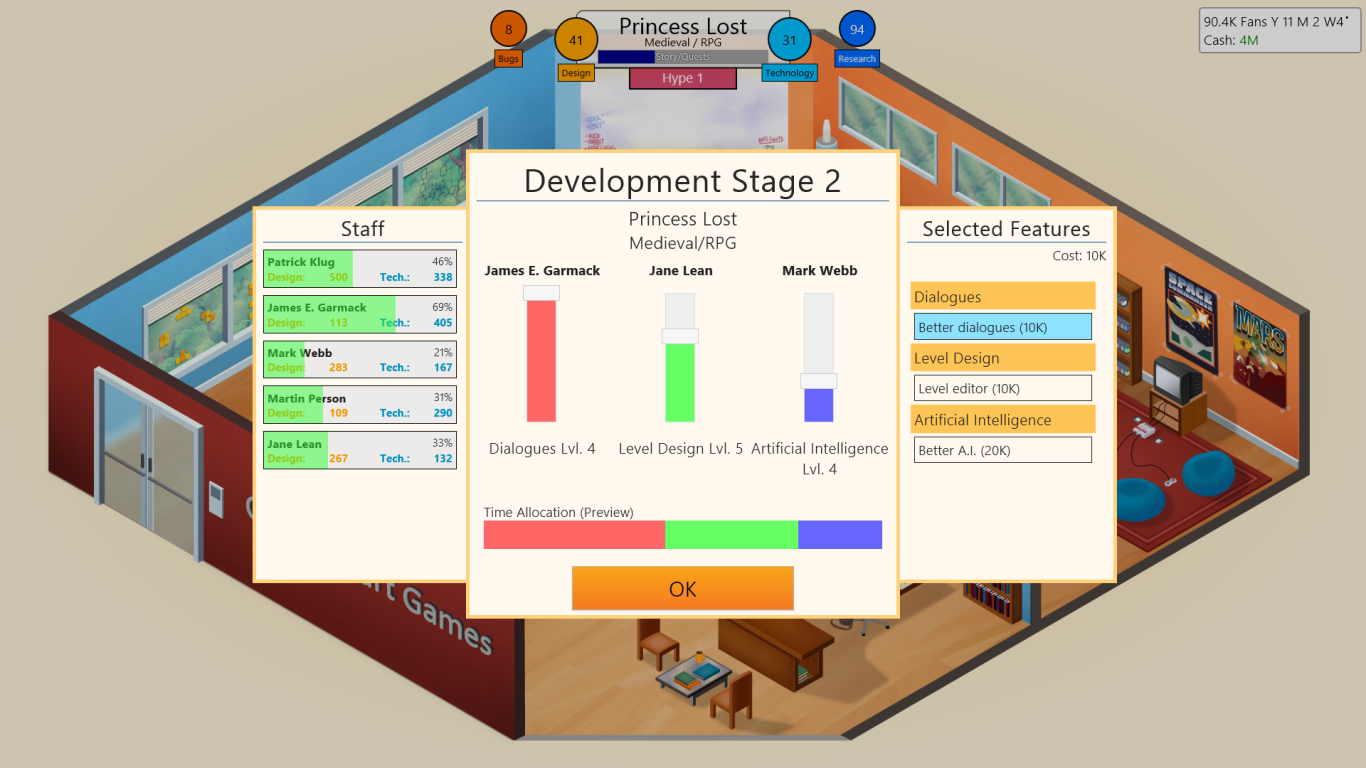 game dev tycoon greenheart games expand your company